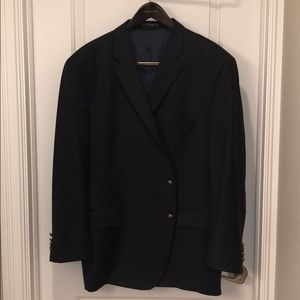 Men's Navy Blue Sport coat with silver buttons